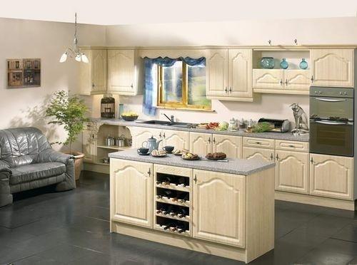 Tủ bếp châu Âu CA003