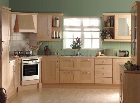 Tủ bếp gỗ sồi mỹ SM0012