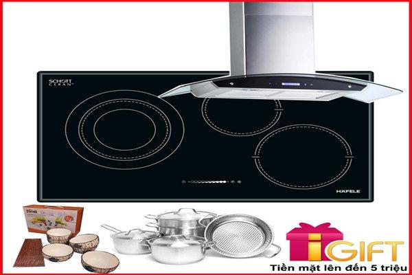 Bếp từ kết hợp điện HC-M773A 536.01.705